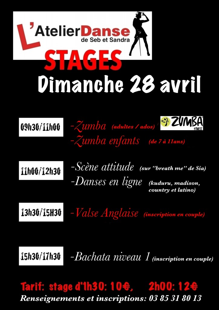 stages 28 avril