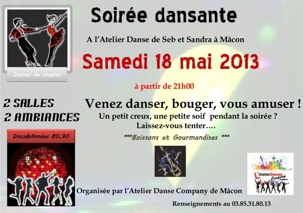 Soirée dansante 18052013