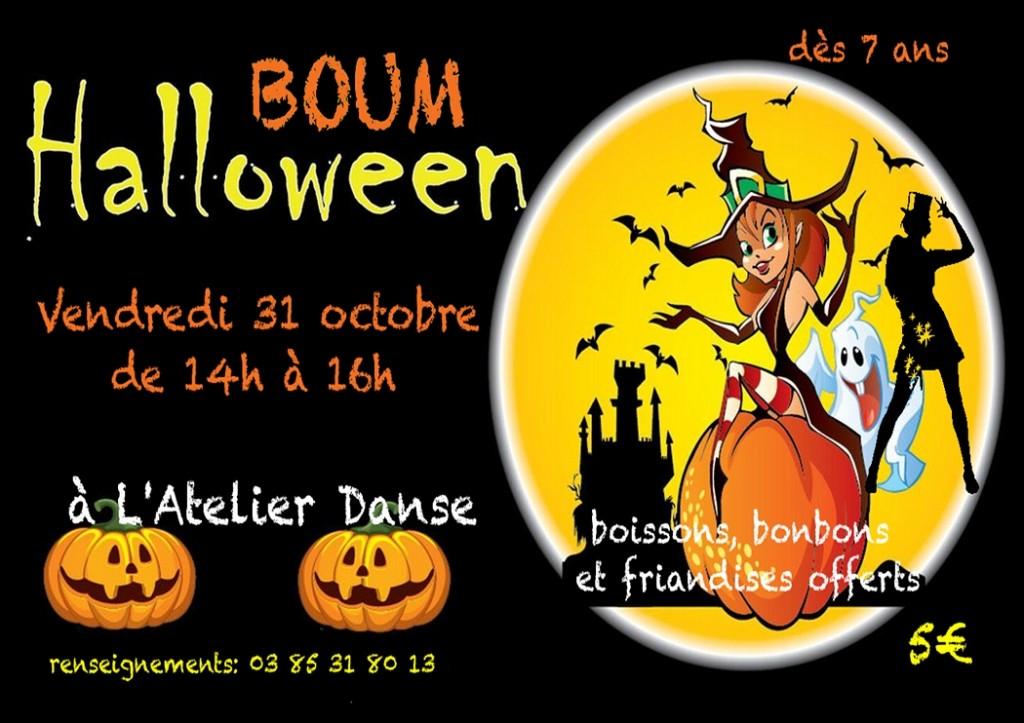 Boum enfants halloween 31 octobre