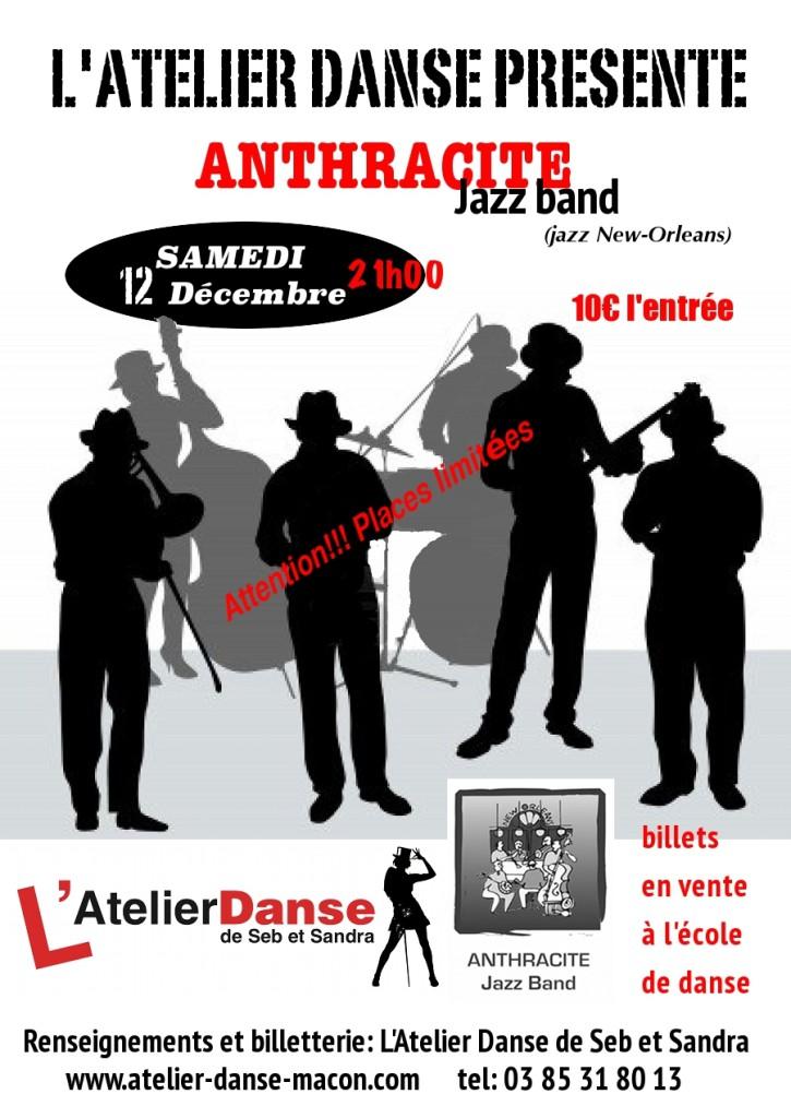 Soirée jazz 12 décembre
