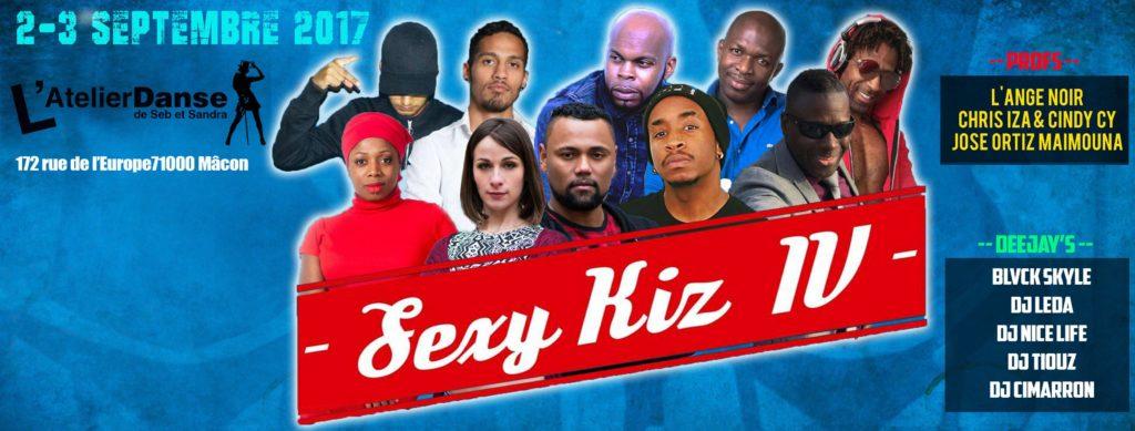 Sexy Kiz 4, Stage de Kizomba à Mâcon et soirée Kizomba à Mâcon